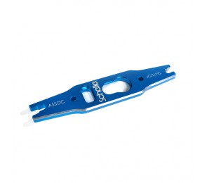 Associated 12mm Shock and Turnbuckle Tool, Blue