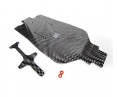 D413 Stretch Carbon Chassis Set