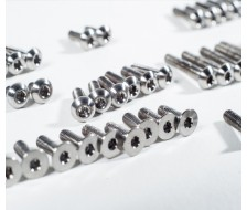 B6 Titanium Upper Screw Set
