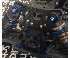 B64 Titanium Upper Screw Set