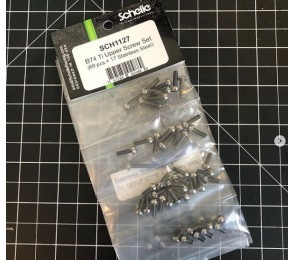 B74 Titanium Upper Screw Set (Batch #3)