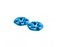 Asterisk Wing Buttons, Blue