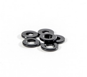 Black Ballstud Washers, 2.0mm Thick