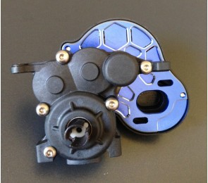 B5M 4-Gear Vented Motor Plate, Blue