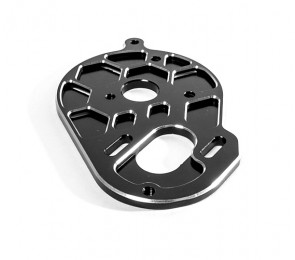 TLR 22 3.0 3-Gear Vented Motor Plate. Black
