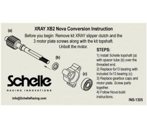 XRAY XB2 Nova Conversion Topshaft w/ Bearing
