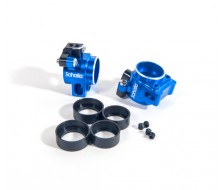 B64 / T6.1 Aluminum Rear Hubs, Blue