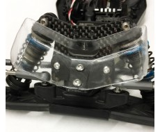 B6.1 Low Front Wing Mount, 3D with screws