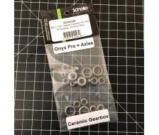 B6.1 / DR10 Hybrid Ceramic Pro Bearing Set