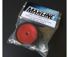 Maxline Futaba V2 Standard Wheel, Red